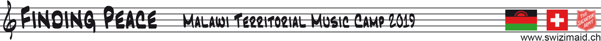 Malawi Territorial Music Camp 2019 Logo